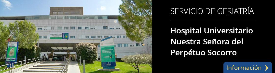 Hospital Universitario Nuestra Señora del Perpétuo Socorro -  Servicio de Geriatría